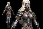 女战士3D模型