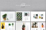 绿植画册设计模板