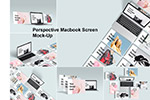 Macbook网站UI样机