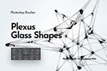 抽象多边形玻璃形状PS画笔