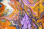 抽象流体涂料背景纹理
