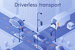 智慧城市交通2.5D插画