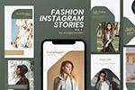 时装店社交促销广告