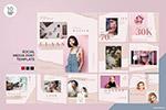 化妆品推广社交媒体设计