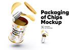 薯片桶包装样机