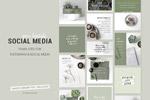 绿色社交媒体广告