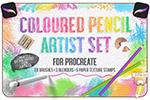 彩色铅笔Procreate