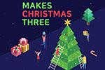 圣诞节购物促销网页