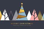 新年圣诞节背景底纹