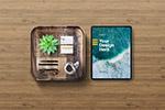 iPad和名片样机