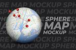 地球仪地图定位样机