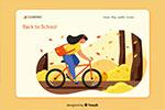 儿童教育培训插画