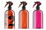 彩色玻璃喷雾瓶样机