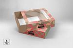 抽屉式透明产品盒样机