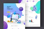 商务网页UI设计模板