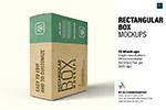真产品包装纸盒样机