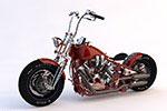 混合式重型摩托�模型