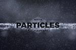 抽象白色粒子�y理背景