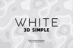 3D白色�缀�D案背景