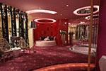 概念酒店客房模型