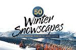 冬季雪景LR预设
