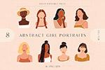抽象女性肖像剪』�N��