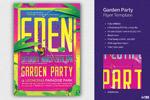 花园派对主题海报