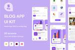 博客App模板