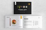 美食画册设计模板