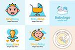 宝宝元素标志