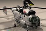 武装直升飞机3D模型