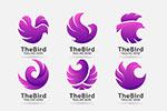 鸟类动物图案标志