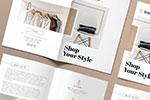 双折页产品目录