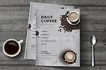简约咖啡厅菜单