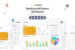 银行和金融仪表板