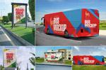 公交车广告样机