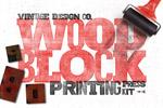 木版印刷图层样式