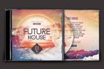 未来感CD包装