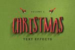 圣诞节效果字样式