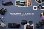 摄影师广告场景
