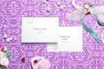 婚礼卡片样机
