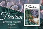 园艺杂志模板