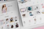 立体网页设计样机