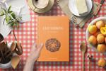 厨房场景书籍样机