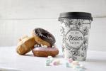 咖啡甜甜圈样机