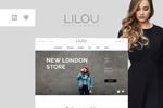 女装店网页模板