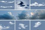 白云云朵透明元素