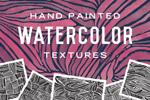 手绘水彩艺术图案