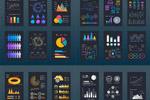 数据统计信息图表