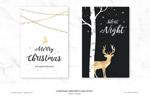 铂金镶嵌圣诞贺卡